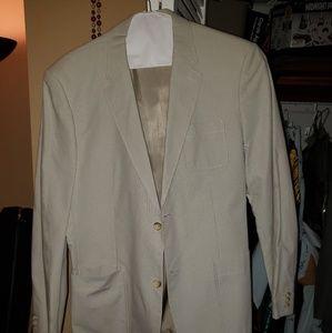 Vintage Cream Perry Ellis Sports Coat